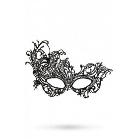 Maschera nera sexy erotic night black edition venezia