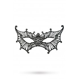 Maschera nera sexy erotic night black edition spider