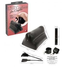 Set bondage kit fetish con manette frusta cuscino per coppia costrittivo sexy