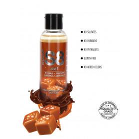 lubrificante aromatizzato al sapore di caramello gel vaginale anale per massaggi