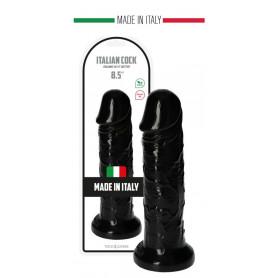 Fallo realistico grande con ventosa dildo vaginale anale maxi nero pene finto