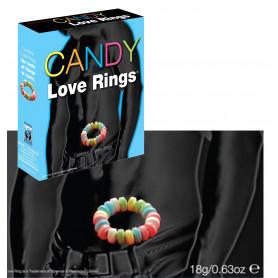 Anello fallico ritardante caramella sexy gadget per giochi erotici di coppia hot