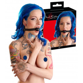 Morso bondage sexy costrittivo bdsm gag ball in silicone nero sex toys sadomaso