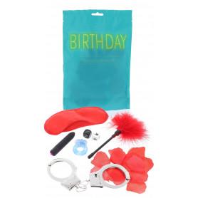 Set vibratore vaginale anello fallico e manette kit per giochi erotici di coppia