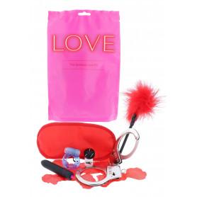 Set anello fallico manette e vibratore vaginale anale kit per giochi erotici sex