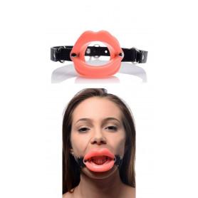 Morso BDSM sexy costrittivo bondage gag ball per uomo donna in silicone ecopelle
