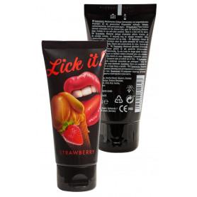 Lubrificante intimo a base acqua vaginale anale gel per sesso orale commestibile