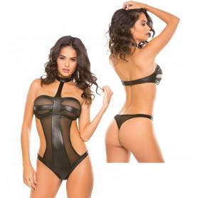 Body intimo sexy donna nero trasparente bodysuit erotico perizoma elegante hot