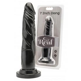 Fallo realistico nero con ventosa dildo vaginale anale pene finto piccolo black
