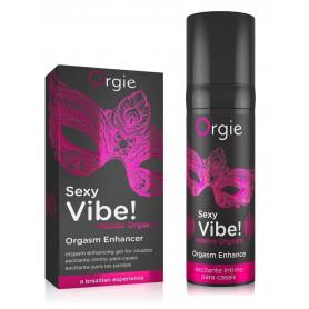 Lubrificante stimolante gel intimo vaginale crema anale Sexy Vibe a base acqua
