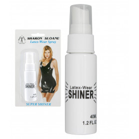 Spray curativo trattante nutriente lucidante per abbigliamento in lattice gomma